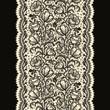 Lace Ribbon Vertical Seamless Pattern