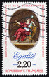 Postage stamp France 1989 Equality, Declaration of Rights
