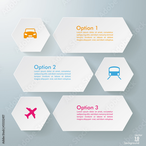 Infographic 3 Options Transportation