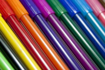 Rotuladores de muchos colores