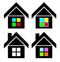 House estate logo icon