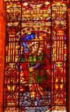 Moses Stained Glass Seville Cathedral Spain poster