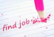 Find job word