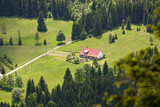 Fototapety Dom w Górach