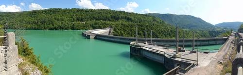 Foto op Canvas Dam Barrage de Vouglans