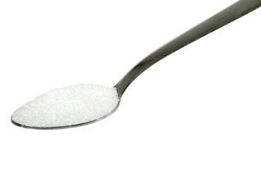 Isolated Spoon with sugar