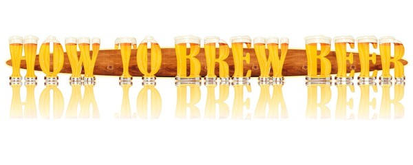 BEER ALPHABET letters HOW TO BREW BEER