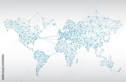 Streszczenie mapa świata telekomunikacji