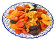 dried fruits on arabic plate