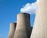 Cooling Towers of a coal fired power station