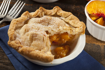 Mini Peach Pie Dessert
