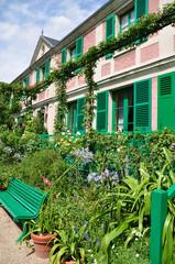 Haus von Claude Monet in Giverny, Frankreich