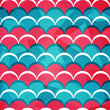 abstract circle seamless pattern