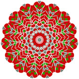 Circle floral ornament, EPS8 - vector graphics.