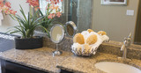 Fototapety Bathroom granite counter top