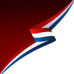 Abstract color vector background French flag