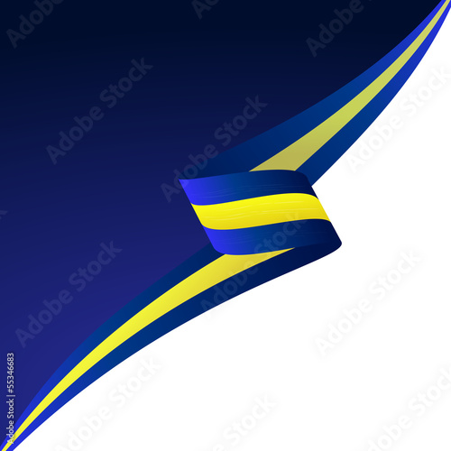Abstract color vector background Sweden flag