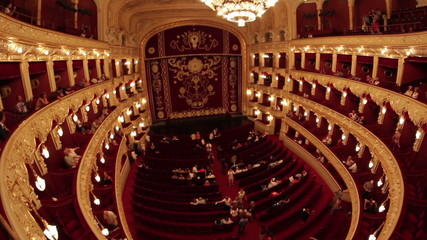 Classical Theater Interior