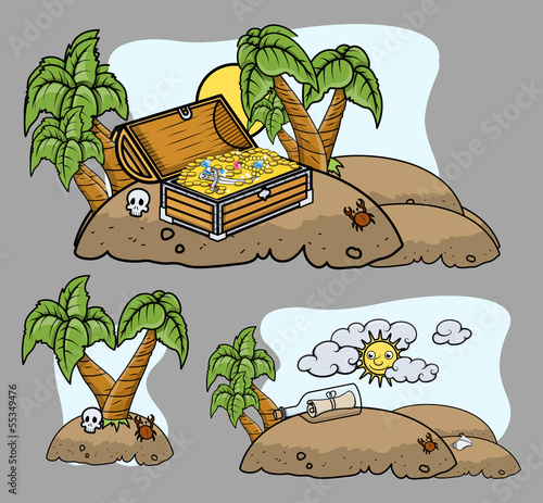 Cartoon Islands