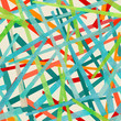 colored strips seamless pattern