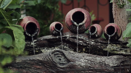 Water Jar Fountain