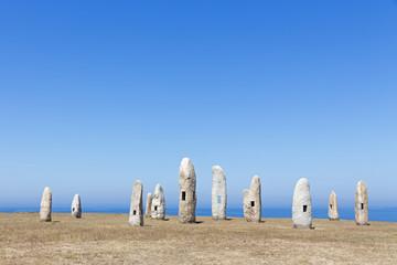 Menhires, A Coruna, Spain