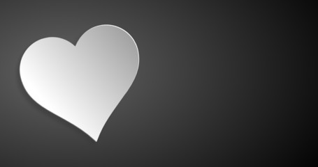 Tafel Herz