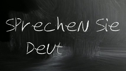 Sprechen Sie Deutch (Do you speak German)