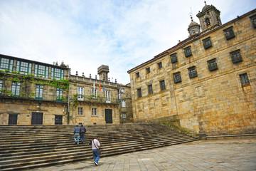 Plaza de Quintana, Santiago de Compostela, Galicia