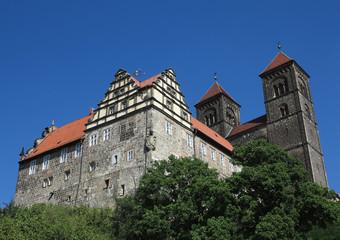 schloss und stiftskirche quedlinburg