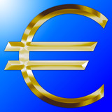 euro metallized logo
