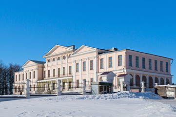 Palace of the Dubrovitsy estate in Podolsk, Russia
