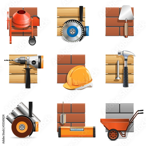 Vector Construction Work Icons