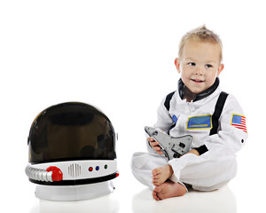 Adorable Baby Astronaut