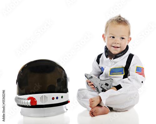 Adorable Baby Astronaut - 55362246
