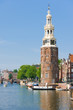 Montelbaanstoren tower in Amsterdam
