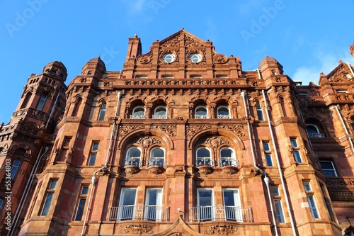 Manchester - famous eclectic architecture in England