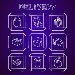 Delivery web collection