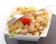 Salade poulet pâtes