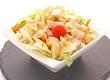Poulet en salade