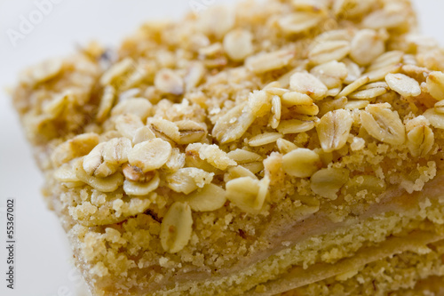 Delicious apple bars
