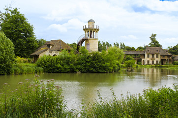 The Queen's Hamlet located in the Trianon - Versailles, France