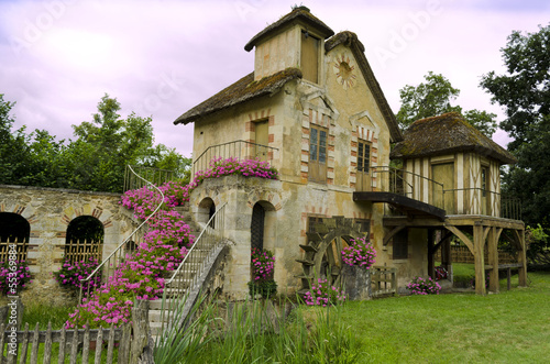Queen's hamlet in the Trianon – Versailles, France