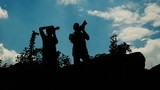 Silhouette of Photographers 1