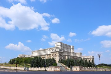 Bucharest, Romania - Parliament Palace