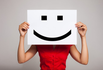 Smiling emoticon