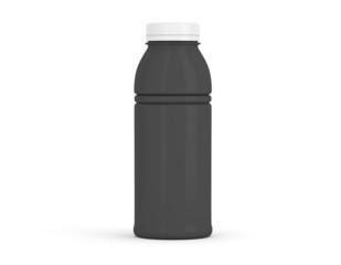 Flasche mittel schwarz