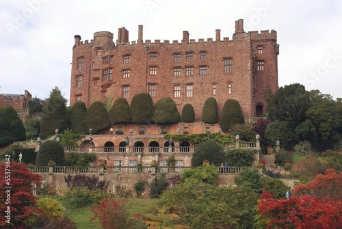 Powis Castle and Garden, wales, uk