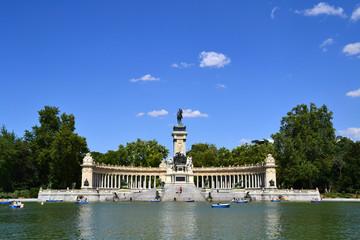 Parque de El Retiro en Madrid