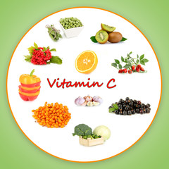 Products which contain vitamin C